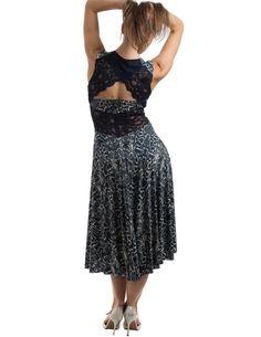 Argentijnse Tango jurk dans jurk elegante jurk door TheGiftofDance