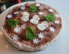 Kirsch - Zimt -Frischkäse Torte mit Spekulatius Boden  - Powered by…