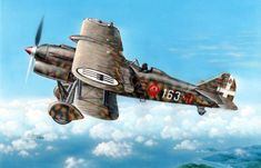 Ww2 Aircraft, Fighter Aircraft, Military Aircraft, Fighter Jets, Italian Air Force, Italian Army, Air Force Pictures, Aircraft Painting, Airplane Art