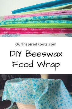 Beeswax Food Wrap: Cover Your Food with Beeswax Fabric [Tutorial] - Health and wellness: What comes naturally Bees Wax Wraps, Bees Wax Wrap Diy, Beeswax Food Wrap, Natural Living, Plastic Wrap, Diy Food, Homemaking, Diy Projects, Sewing Projects
