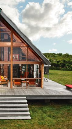 Jens Risom's Block Island Family Retreat