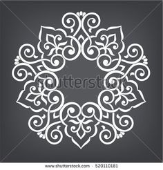 Find Circular Abstract Floral Pattern Mandala Round stock images in HD and millions of other royalty-free stock photos, illustrations and vectors in the Shutterstock collection. Stencil Patterns, Stencil Designs, Embroidery Patterns, Motifs Islamiques, Beautiful Rangoli Designs, Circular Pattern, Motif Floral, Floral Flowers, Simple Rangoli