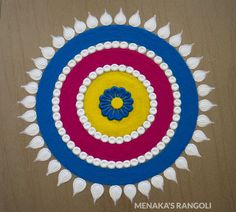 50 Swaminarayan Jayanti Rangoli Design (ideas) that you can make yourself or get it made during any occasion on the living room or courtyard floors. Rangoli Designs Simple Diwali, Happy Diwali Rangoli, Rangoli Designs Latest, Rangoli Designs Flower, Free Hand Rangoli Design, Small Rangoli Design, Rangoli Border Designs, Rangoli Ideas, Rangoli Designs With Dots