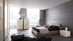 'Minimal Interior Design Inspiration' is a weekly showcase of some of the most perfectly minimal interior design examples that we've found around the web - all Interior Design Examples, Interior Design Inspiration, Layout Inspiration, Modern Bedroom Furniture, Contemporary Furniture, Modern Bedrooms, Minimal Bedroom, Grey Bedding, Interior Architecture