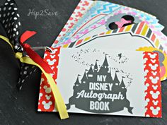 How to make a Disney Autograph book Hip2Save