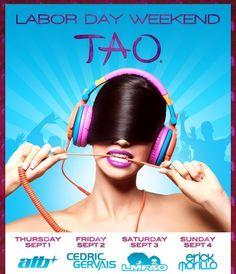 2012 LaborDayWeekend TAO flyer