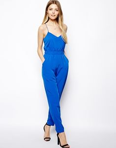 ASOS jumpsuit Ready for this summer? So is this jumpsuit! pair it up with wedges or heels for night time and make it a casual look with jean jacket and flats. Never worn. Runs a little on the big side. ASOS Other Blue Jumpsuits, Jumpsuits For Women, Tall Women Fashion, Jumpsuit Dress, Stylish Girl, Dress To Impress, Casual Looks, Plus Size Fashion, Ideias Fashion