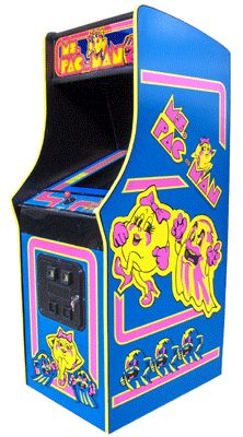 Ms. Pacman Arcade Game