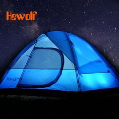 Hewolf Waterproof Camping Tent for 3 - 4 Persons-36.97 | GearBest.com