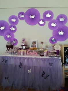 Princess Sofia Party - My WordPress Website Princess Sofia Party, Princess Theme, Princess Birthday, Girl Birthday, Princesa Sophia, Sofia The First Birthday Party, Purple Party, Birthday Party Decorations, Holidays And Events