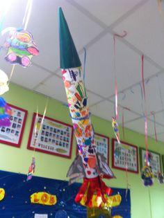 Cohete niños de 4 años