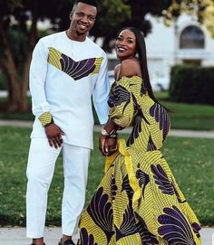 African Clothing/ Matching outfit/ Couples Matching Outfit /Ankara Print/ African Print/ Couples Out Latest African Fashion Dresses, African Print Dresses, African Print Fashion, African Dress, Ankara Fashion, African Print Wedding Dress, African Prints, African Fabric, Africa Fashion