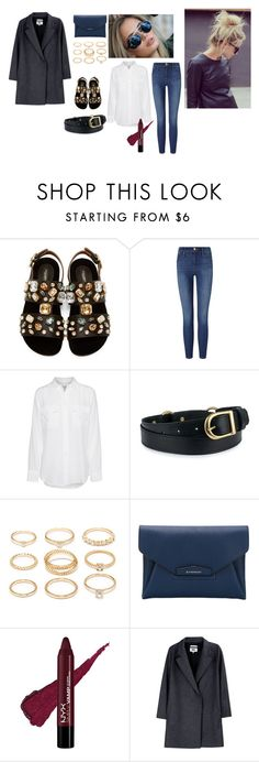 """Vogue for a Day"" by deckerandlee ❤ liked on Polyvore featuring Dolce&Gabbana, Frame Denim, Equipment, Forever 21, Givenchy and MM6 Maison Margiela"