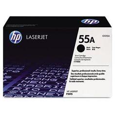 HP 55A, (CE255A) Black Original LaserJet Toner Cartridge-1 count