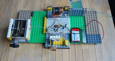 LEGO Radio receiver by F:W:Stumpfi