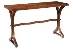 Chaucer Console Table on OneKingsLane.com. Love this one too!