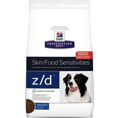 Hill's Prescription Diet d/d Skin Food Sensitivities Potato & Salmon Formula Dry Dog Food 25 lb ~ You could find more details by visiting the image link. (This is an affiliate link and I receive a commission for the sales) Low Fat Dog Food, Dry Dog Food, Cat Food, Food Food, Psyllium, Dog Food Comparison Chart, Les Croquettes, Fat Dogs, Troubles Digestifs