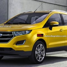 2016 Ford EcoSport will look like this