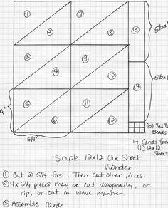 12x12 one sheet wonder template