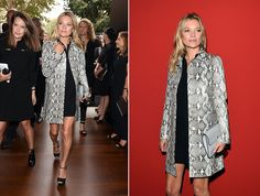 Celebrities On The Front Row At Milan Fashion Week 2014 | Grazia Fashion
