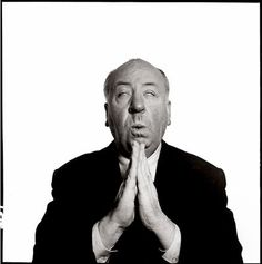 Alfred Hitchcock by Richard Avedon