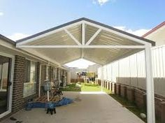 colorbond pergola - Google Search