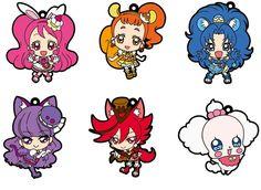 AmiAmi [Character & Hobby Shop] | KiraKira Precure A La Mode - Rubber Strap 6Pack BOX(Pre-order)
