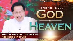 'There is a God in Heaven' by Pastor Apollo C. Spiritual Enlightenment, Spirituality, New Jerusalem, Kingdom Of Heaven, Son Of God, Praise And Worship, Apollo, Spotlight, Jesus Christ