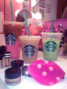 Starbucks and makeup!  @Makeupby_Mindie @Mindie_Makeup #MakeupbyMindie