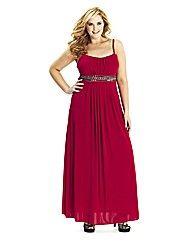 Lovedrobe Stud Trim Maxi Dress at Simply Be Ball Dresses, Evening Dresses, Formal Dresses, Wedding Dresses, Fashion Sites, Fashion Outfits, Fasion, Large Size Clothing, Designer Wear