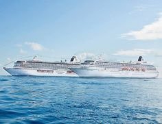 Crystal Symphony and Crystal Serenity #cruise #travel