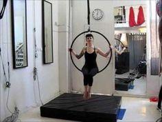 ▶ Gaining Strength for Aerial Acrobatics - Beginners Aerial Tutorial - YouTube