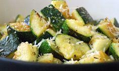 Garlic Roasted Zucchini