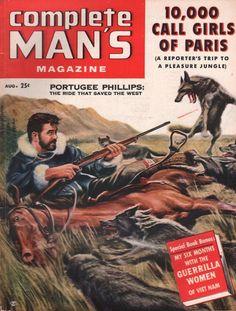 Complete Man's Magazine August 1957