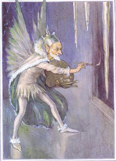 Fairies Margaret Tarrant - Elfen & Boeken - Jack Frost