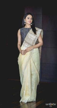How To Look Stylish And Professional In Formal Work Wear Sarees, Tips to achieve formal saree look with corporate office wear sarees