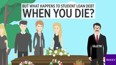 Here's what happens to your student debt when you die.