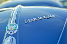 1956 Volkswagen VW Bug Hood Emblem Photograph by Jill Reger - 1956 Volkswagen VW Bug Hood Emblem Fine Art Prints and Posters for Sale