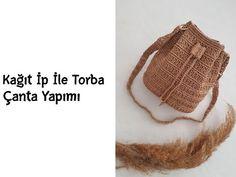 Crochet Purses, Bag Making, Straw Bag, Crochet Patterns, Cross Stitch, Knitting, Handmade, Crafts, Istanbul