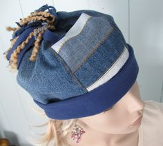Denim tassled hat- PROJECT WONDERFUL AND RECYCLED JEANS | Missy Mao Mao