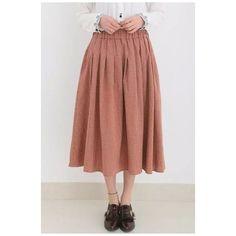 Elastic Waist Plaid Pleat Maxi Girls Skirts ($27) ❤ liked on Polyvore featuring skirts, plaid pleated skirt, long pleated maxi skirt, pleated skirt, long maxi skirts and plaid skirt