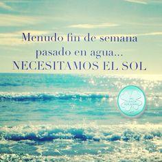 Sol vuelveeee...  Buenas noches caminantes! www.micoachpersonal.info