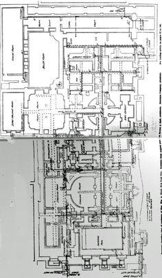 Basement level of Senator William Clark mansion- New York City