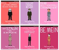 My inner history dork is digging the dictator/communist humor! Funny Valentine, Valentine Day Cards, Happy Valentines Day, Nerdy Valentines, Valentines Greetings, Valentine Ideas, Political Science Student, Karl Marx, My Guy