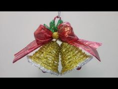 Christmas Bells, Christmas Decorations, Xmas, Christmas Ornaments, Holiday Decor, Dyi Crafts, Paper Crafts, Foam Board Crafts, Finger Crochet