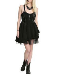 Hell Bunny Iva Black Dress