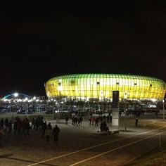 #gdansk #ilovegdn #pgearena #match #lechia #football