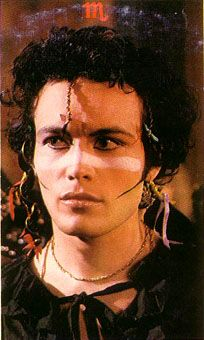 If I strip for you will you strip for me...I love Adam Ant!!