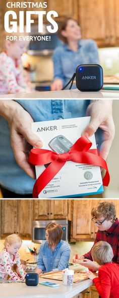 Easy Christmas gifts for everyone that has a cell phone! The very best in quality at a price that is totally affordable. I love my ANKER portable charger and bluetooth speaker. Great holiday gifts for everyone! #ANKERlove