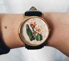 Imagem de cactus, watch, and clock